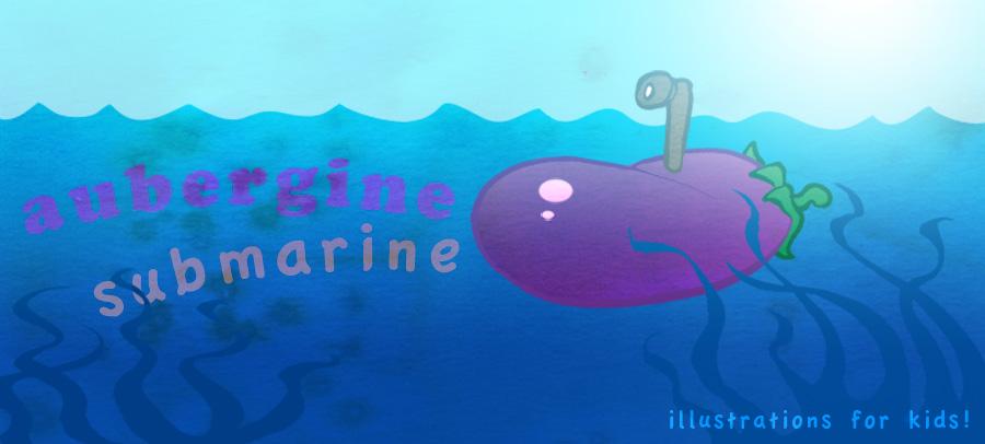 Aubergine Submarine