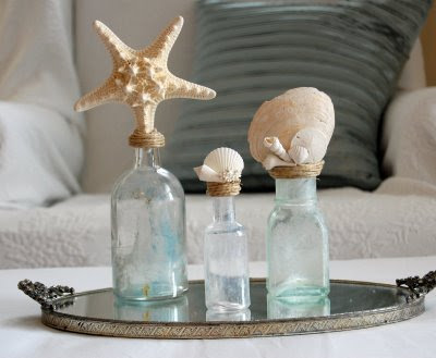 seashell bottles