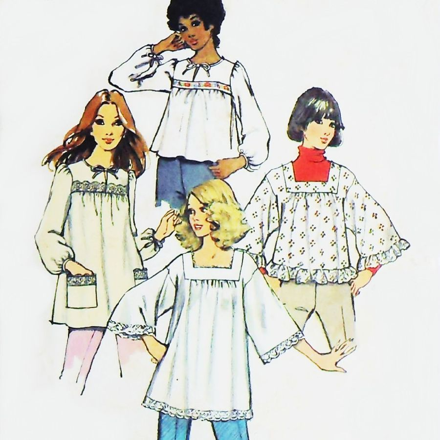 smock sewing pattern on Etsy, a global handmade and vintage
