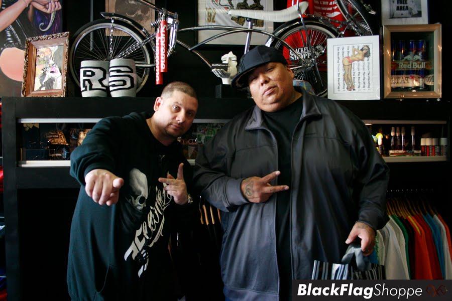 """NJ's very own """"SES"""" of Blackwork Tattoo Studio for sliding thru showing"""