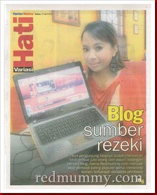 blogging menghasilkan duit... caya tak?