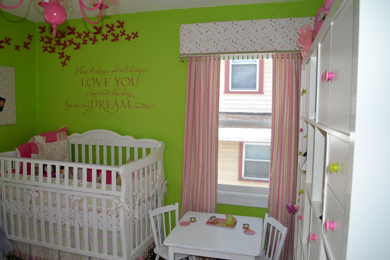 lime green nursery ~ thenurseries