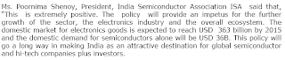 Positive side of Indian Semiconductors