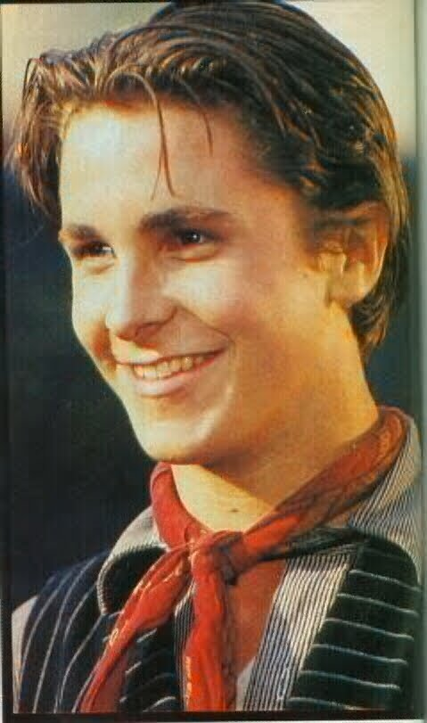 Oh, Christian Bale. He's come a long way, hasn't he, from fresh-faced Jack ...