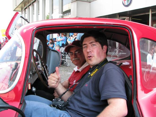 Após a volta em ARESE de Alfa Romeo Disco Volante - Um sonho realizado