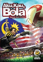AKU, KAU &amp; BOLA : KASUT BOLA KARU 10