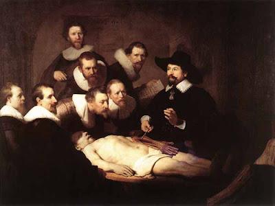 Un día... una obra: Rembrandt: Lección de anatomía del doctor Tulp