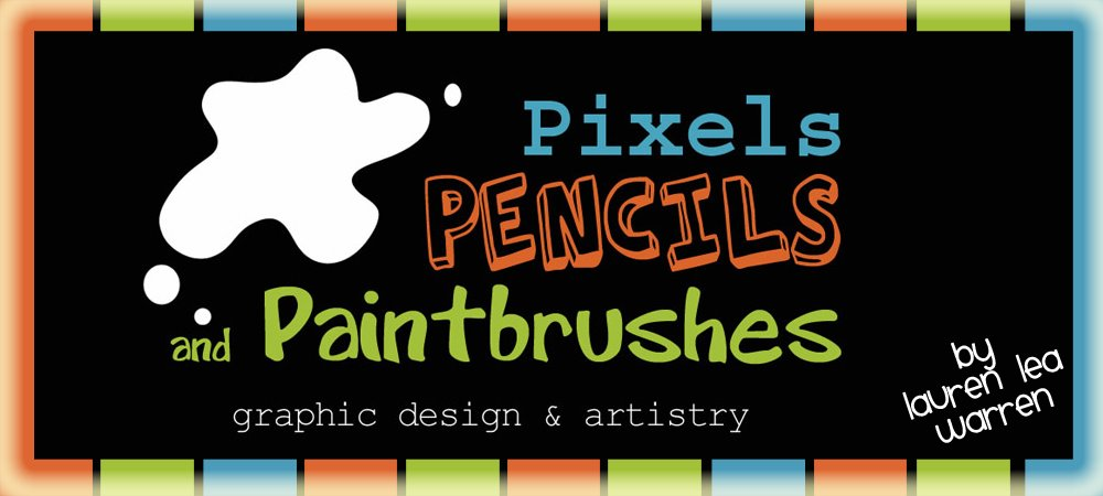 Pixels, Pencils, & Paintbrushes