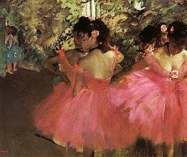 """Degas: """"Ballerine in rosa"""""""