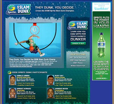 Sprite Slam Dunk 2008