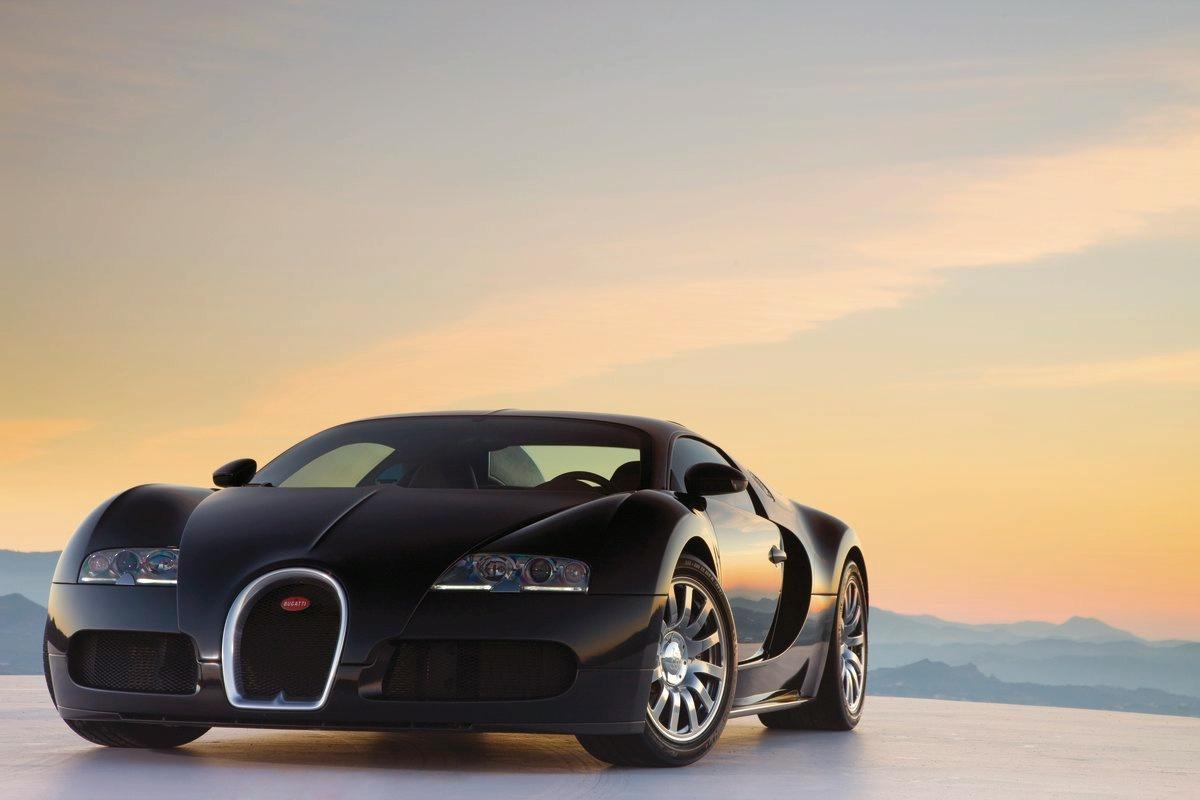 bugatti veyron black
