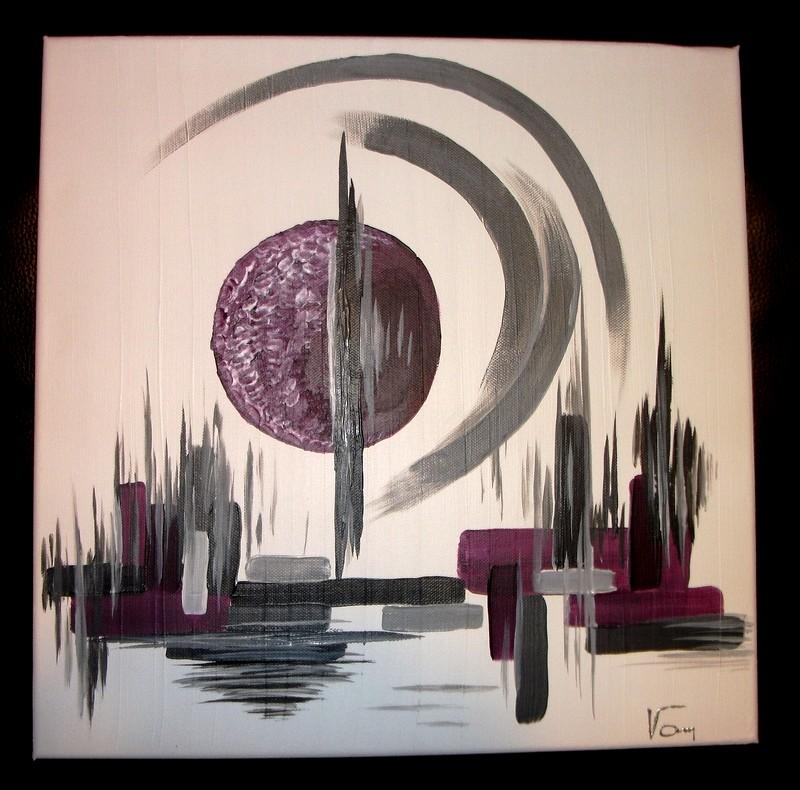 Reflet d 39 emotions peinture tableaux abstraits tons noirs et blancs - Pinterest tableaux peinture ...