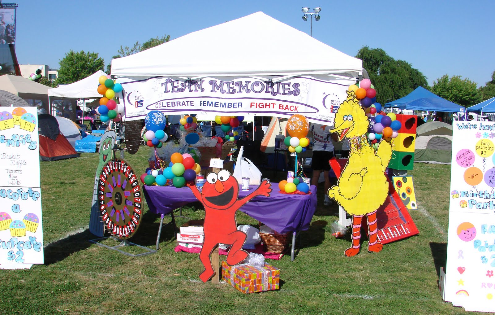 Johnny Cheers: Relay for Life: Team Memories