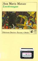 Cuberta do libro Luciérnagas