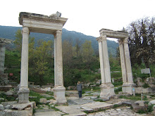 Columns at Ephesus