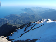 View from Mount Olimpos or Tehtali
