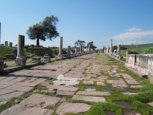The long colonnade to Asklepion