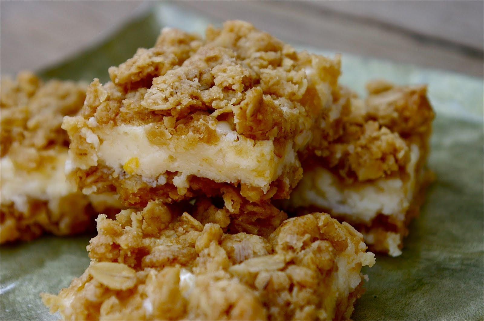 Blue Ridge Baker: Creamy Meyer Lemon Crumb Bars