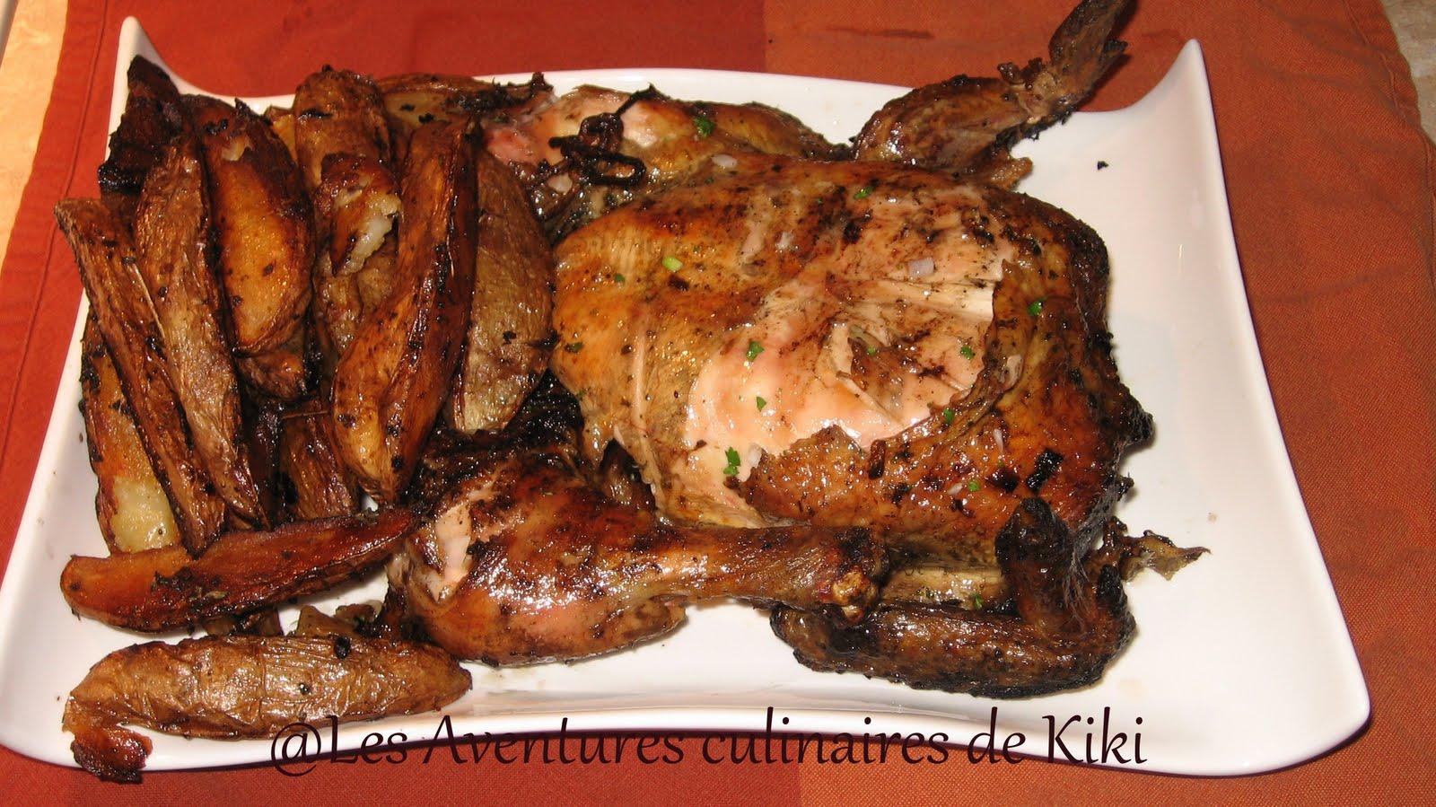 Poulet grill portugais les aventures culinaires de kiki - Poulet grille au barbecue ...