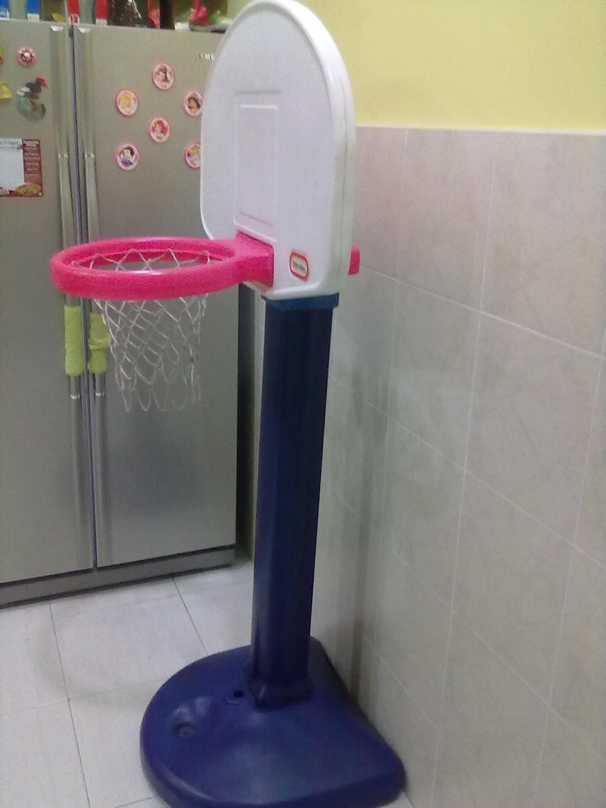 how to fix little tikes basketball hoop