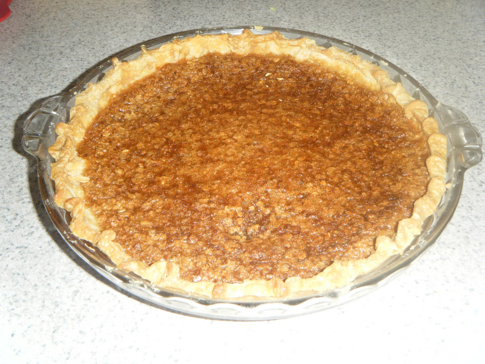 ... about right now is chocolate coffee oatmeal pie i haven t tried it yet