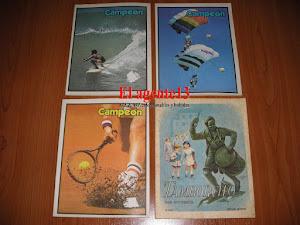 CUADERNOS CAMPEON Y TAMBORCITO.