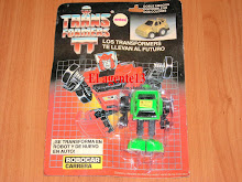 BLISTER TRANSFORMERS DE LOS 80. ANTEX