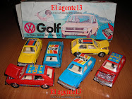 VW GOLF AUTITOS A FRICCIÓN.