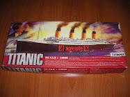 "MAQUETA DEL ""TITANIC""."