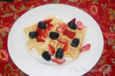 Sour Cream Waffles | The Sisters Cafe
