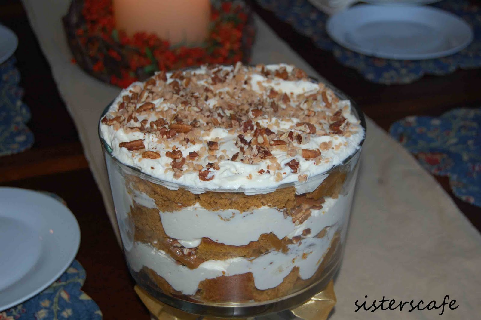 Pumpkin Cream Trifle