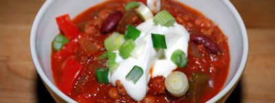 Spicy Turkey Bean Chili