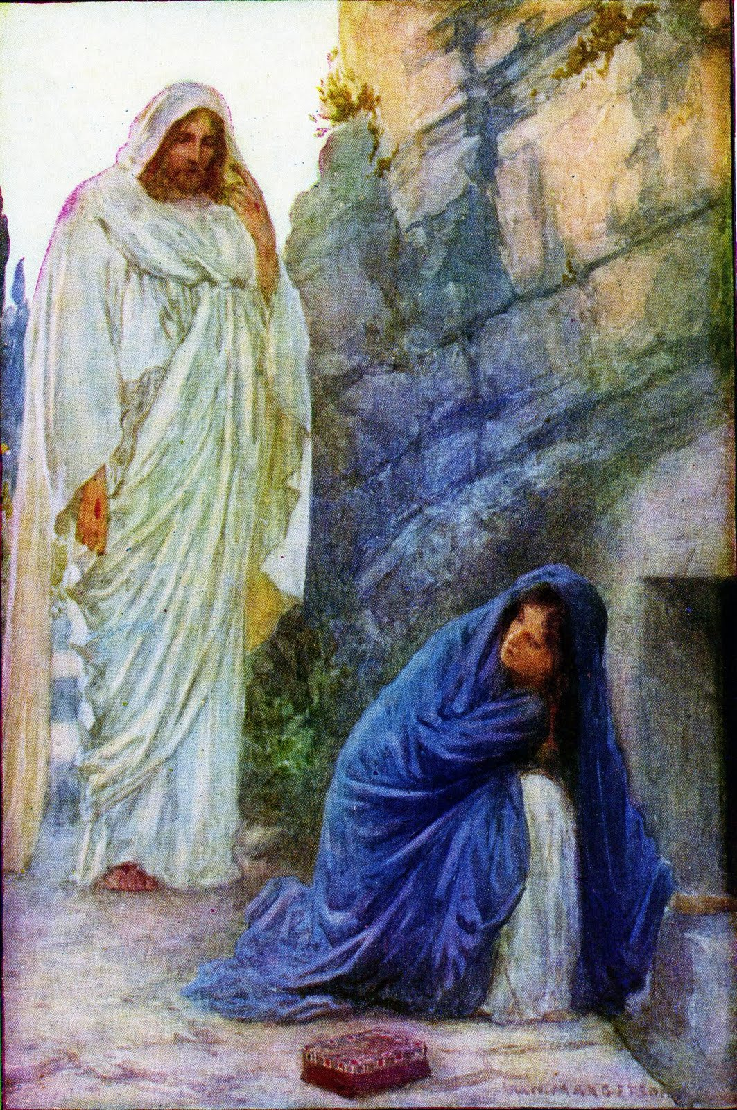jesus and mary magdalene Sex worker, saint, sinner, witness, wife in the 2,000 years since mary magdalene is said to have watched jesus christ die.