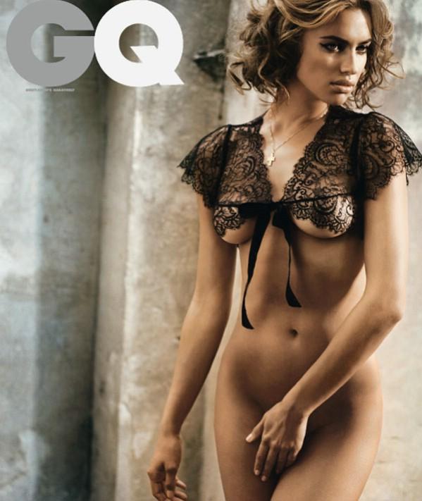 Irina Sheik Nude in GQ Spain