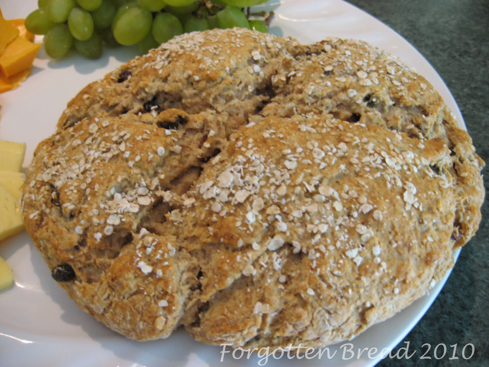 Forgotten Bread: Muesli Soda Bread