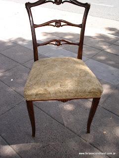 Feria americana second hand muebles 6 sillas impecables estilo ingl s - Sillas estilo ingles ...