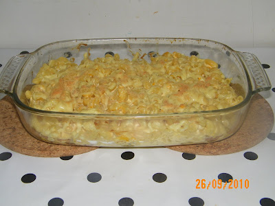Mac and Cheese with Bacon Bits