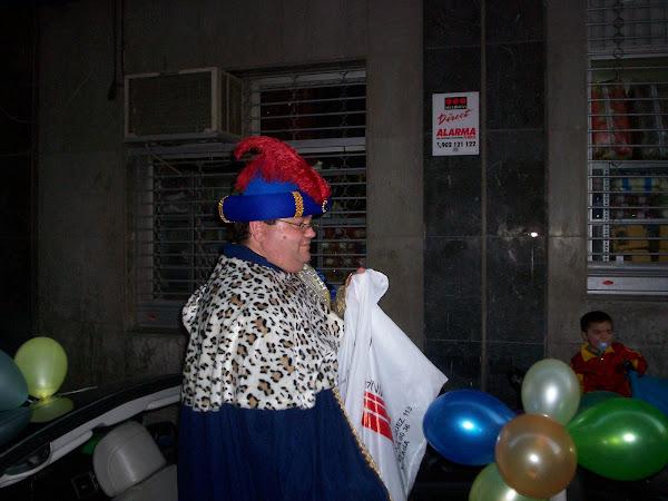 CABALGATA 2008 DEL GRUPO PARROQUIAL VIRGEN MILAGROSA DE MÁLAGA PARA LOS NIÑOS DE CÁRITAS
