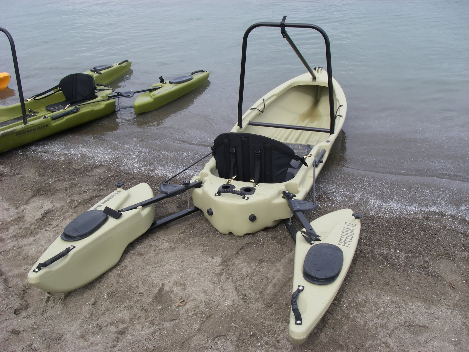 The Freedom Hawk 12 Ultralight Has Become My Favorite PFD Personal Fishing Device Boat Is Hybrid Kayak Canoe Design That Super Stable And Will