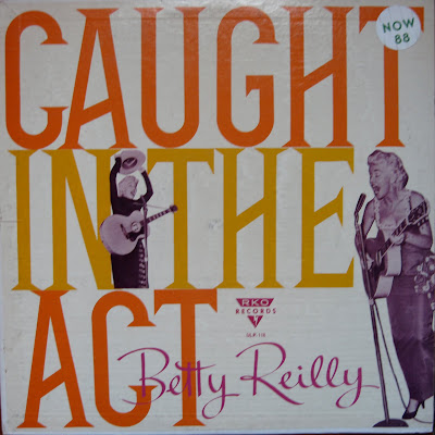 Cover Album of Betty Reilly - The Saga of Elvis Presley