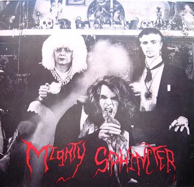 Cover Album of Mighty Sphincter - The New Manson Family