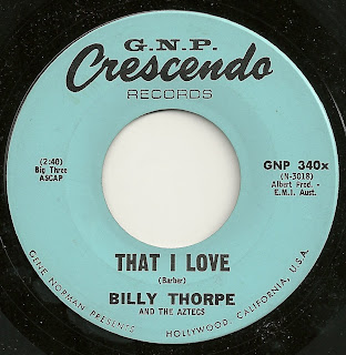 Billy Thorpe and the Aztecs - That I Love