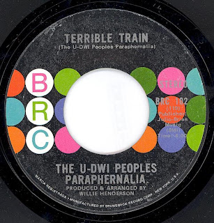 The U-DWI Peoples Paraphernalia - Push And Pull (The Tom Jones) - Terrible Train