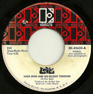 Love - Your Mind And We Belong Together - Elektra EK-45633