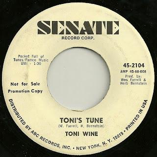 Toni Wine - Toni's Tune - River Deep - Mountain High