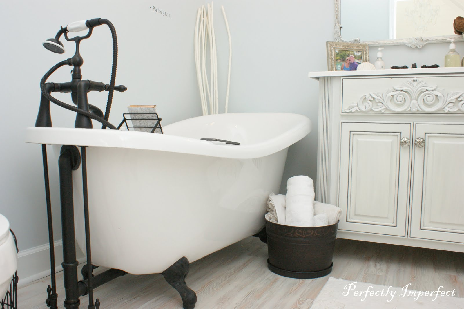 Writing Room Bath Reveal | Perfectly Imperfect™ Blog