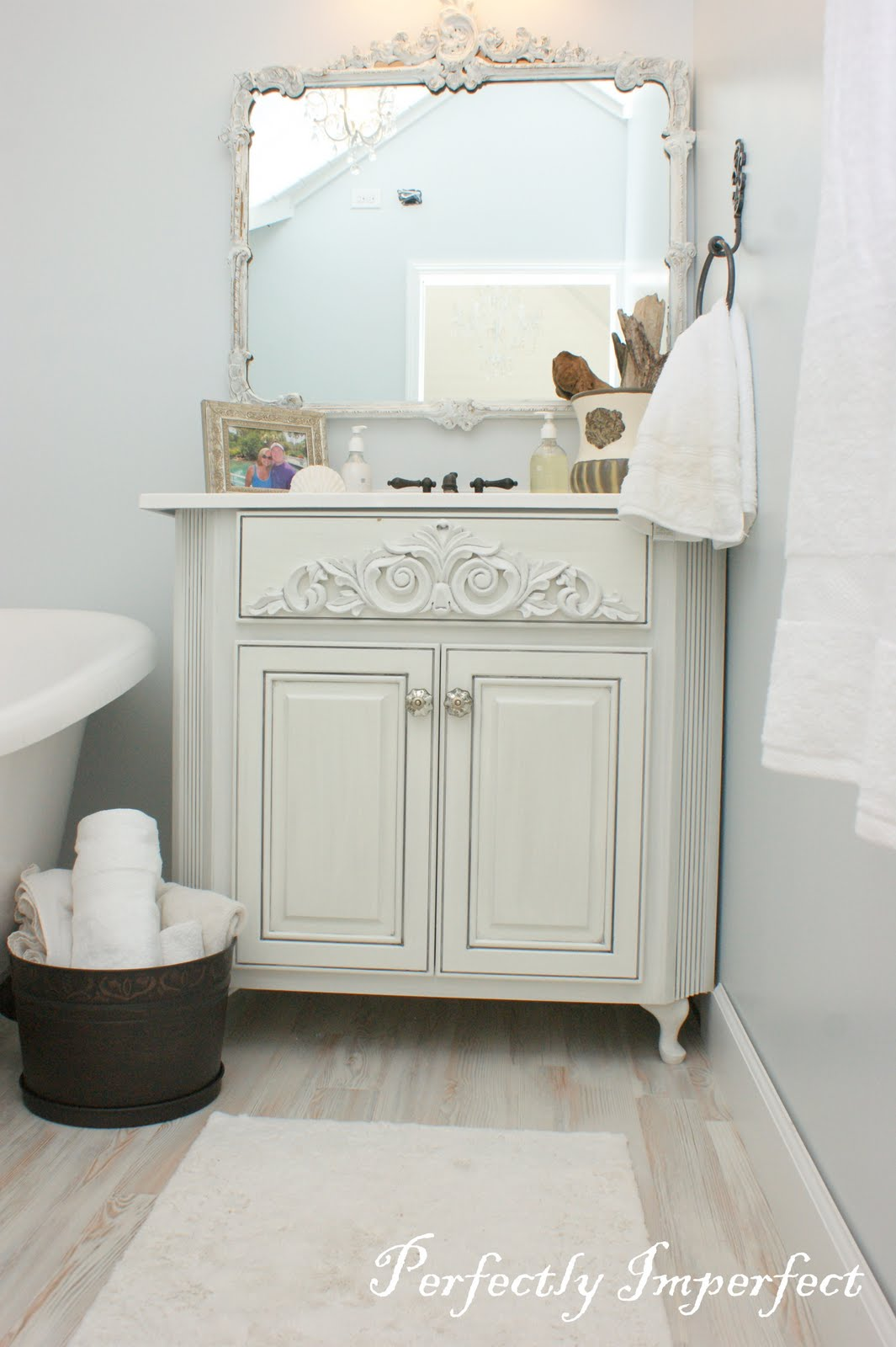 Writing Room Bath Reveal   Perfectly Imperfect™ Blog
