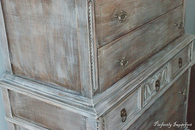 White Wash Pickling Stain Furniture