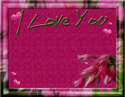 Original romantic card: I Love You