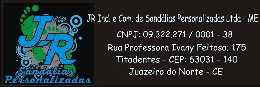 JR Sandálias Personalizadas.